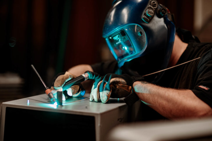 Dawson welder spot welding