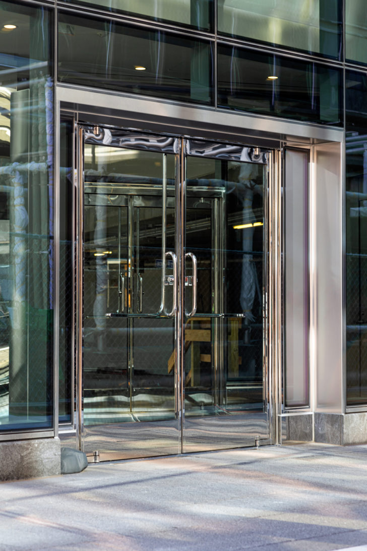 Doors on Capitol Crossing, Washington DC