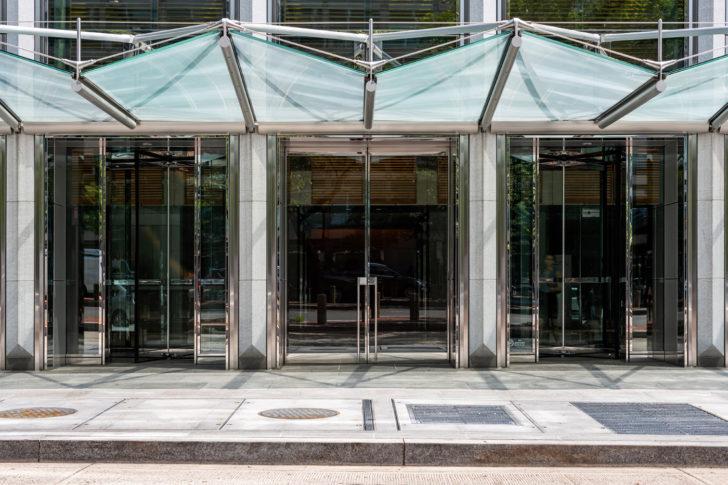 Dawson doors on 1000 Connecticut Avenue, Washington DC