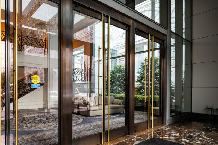 Dawson doors on Trump Hotel, Washington DC