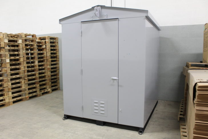 Estabrook dispenser housing fabricated by Dawson