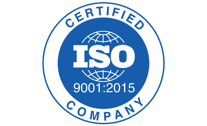 ISO 9001:2015 Certification Seal