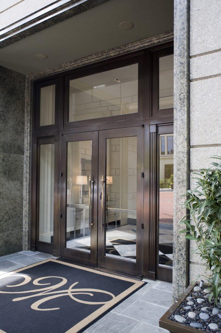 Dawson doors on The Mansion at Peachtree, Atlanta, GA