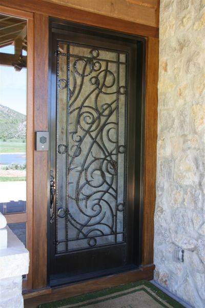 Dawson doors on Private Residence, Aspen, CO