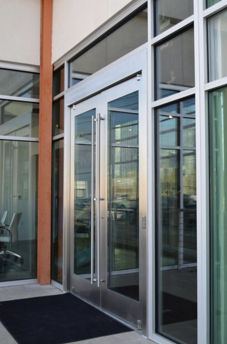 Dawson doors on Premier Design Center, Dallas, TX