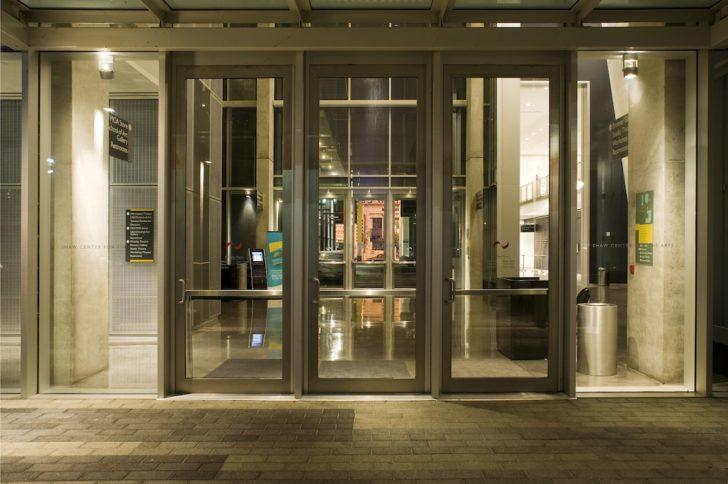Dawson doors on Shaw Center, Baton Rouge, LA