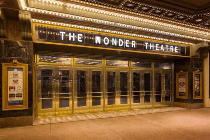 Dawson doors on Sheas Performing Arts Center, Buffalo, NY