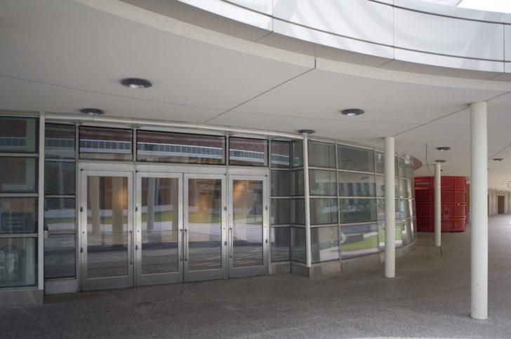 Dawson doors on University of Houston, Houston, TX