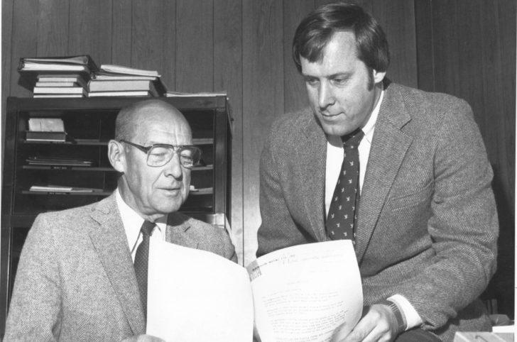 Dawson co-founder George Dawson and his son John Dawson