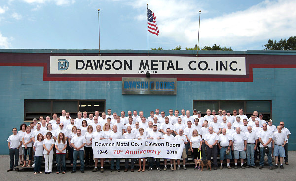 Dawson Metal 70th Anniversary