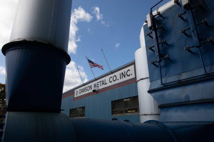 Dawson Metal Co., Inc. Manufacturing Plant
