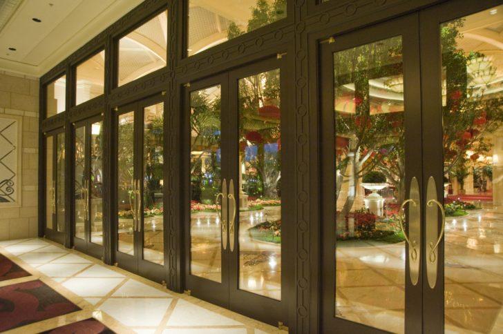 Dawson doors at The Encore Wynn Hotel & Casino in Las Vegas