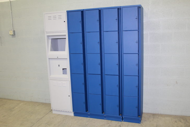 Tiburon Lockers fabricated by Dawson