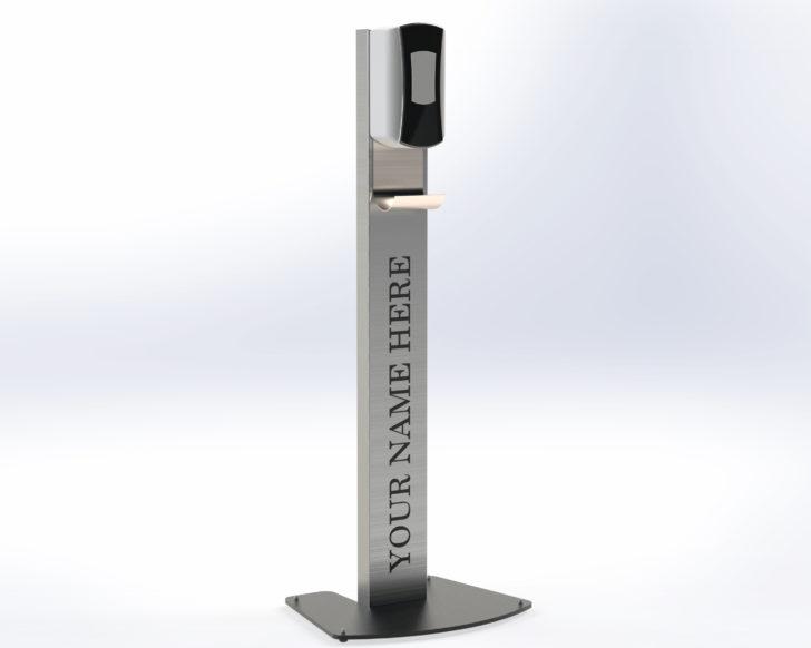 Hand Sanitizer Station Vertical - by Dawson