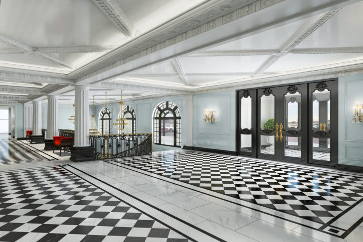 Hotel Carmichael Lobby