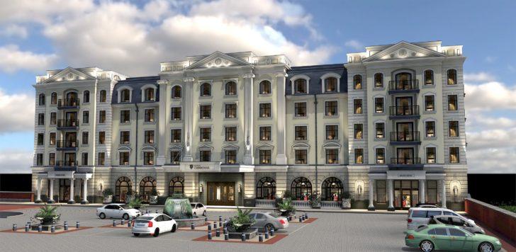 Hotel Carmichael Rendering
