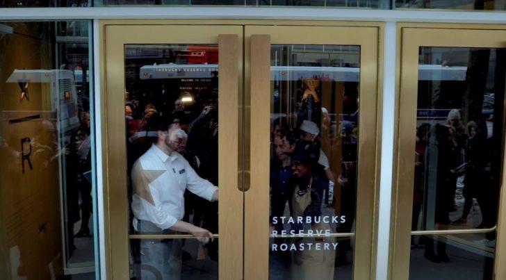 Starbucks Reserve Grande Opening