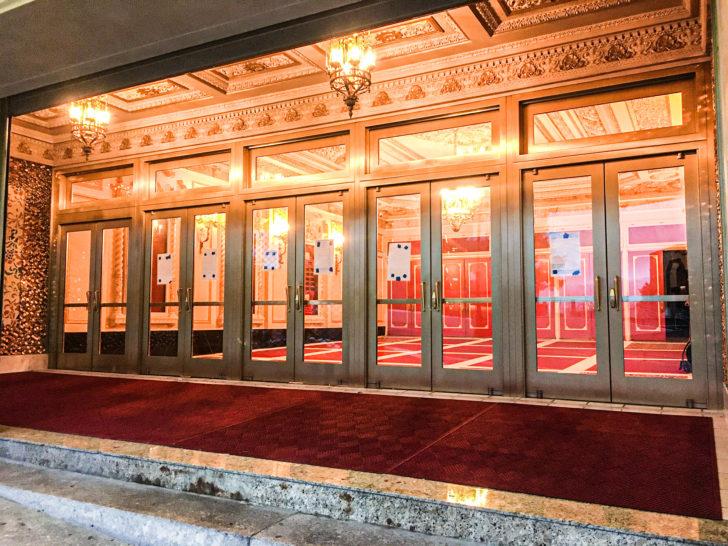 St. George Theater Doors