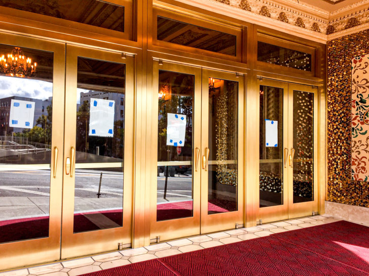 St. George Theater Doors