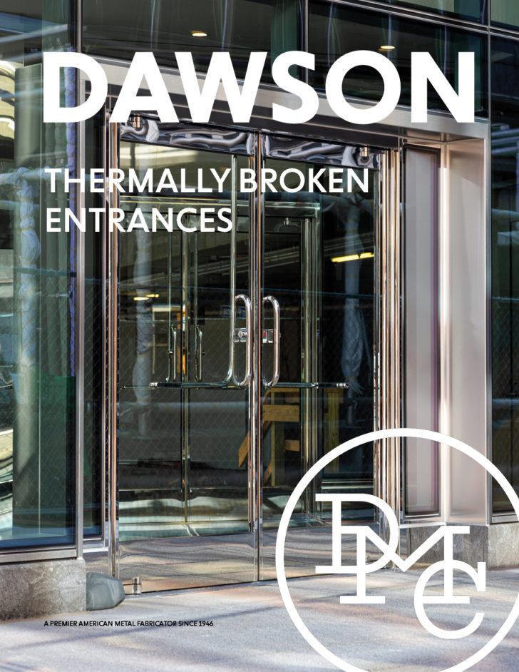 thermal break in balanced door