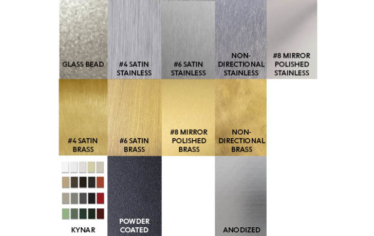 Material Finishes