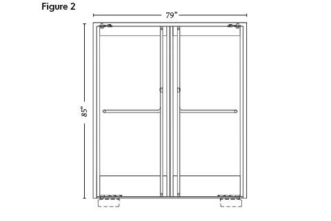 thermally broken doors