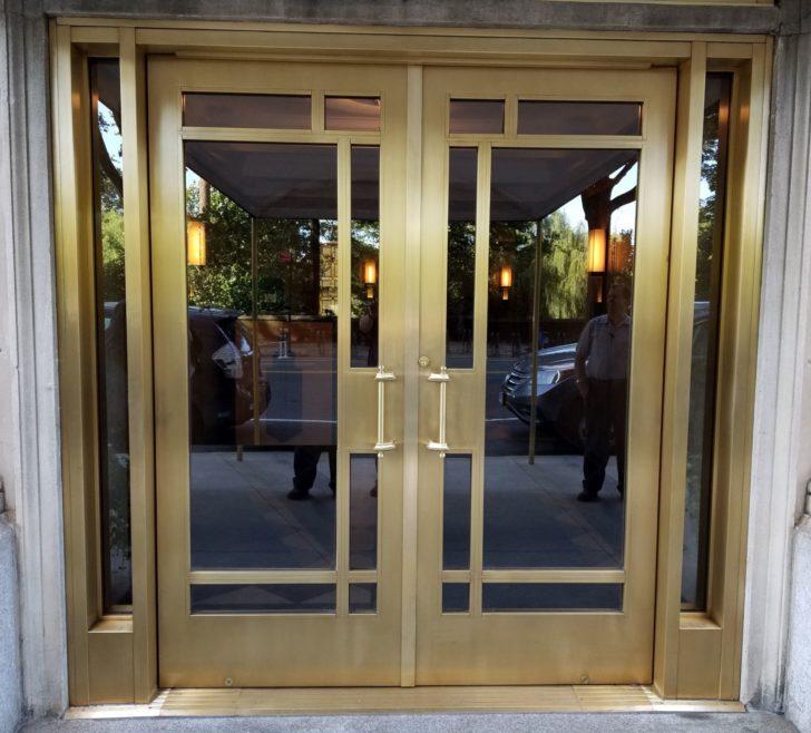 Residental bronze door